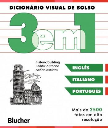 Dicionário Visual de bolso (italiano/Inglês/português), livro de