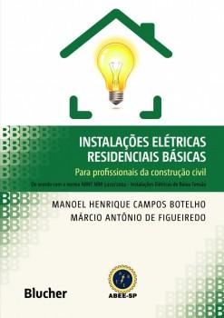 Instalações elétricas residenciais básicas, livro de Márcio Antônio De Figueiredo, Manoel Henrique Campos Botelho