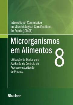 Microrganismos em Alimentos 8, livro de