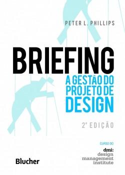 Briefing: A gestão do projeto de design, livro de Peter L. Phillips