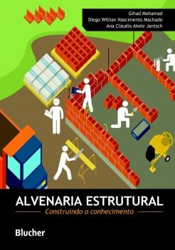 Alvenaria Estrutural, livro de Ana Claudia Akele Jantsch, Diego Willian Nascimento Machado, Gihad Mohamad