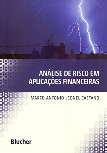 Análise de Risco em Aplicações Financeiras, livro de Caetano