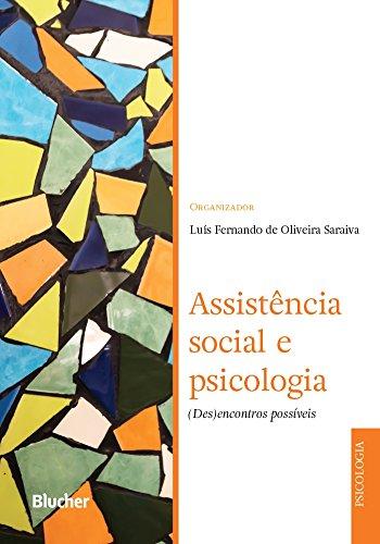 Assistência Social e Psicologia, livro de Saraiva
