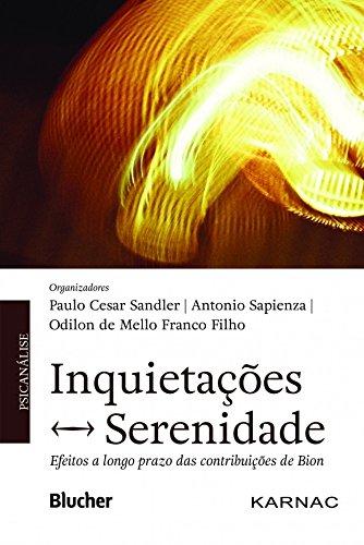 Inquietações  ? Serenidade, livro de Sandler/Sapienza/Franco Filho