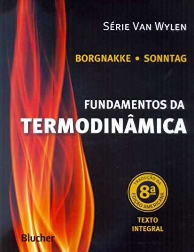 Fundamentos da termodinâmica, livro de Sonntag/Borgnakke