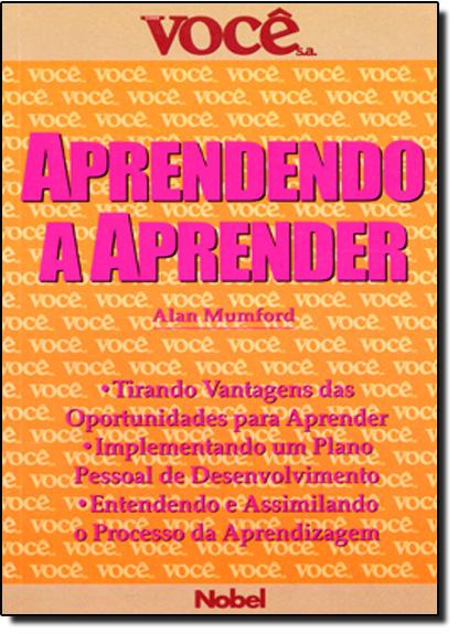 Aprendendo a Aprender, livro de Alan Mumford