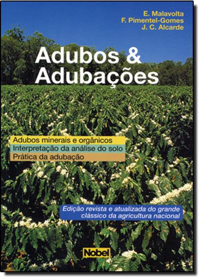 Adubos e Adubações, livro de E. Malavolta