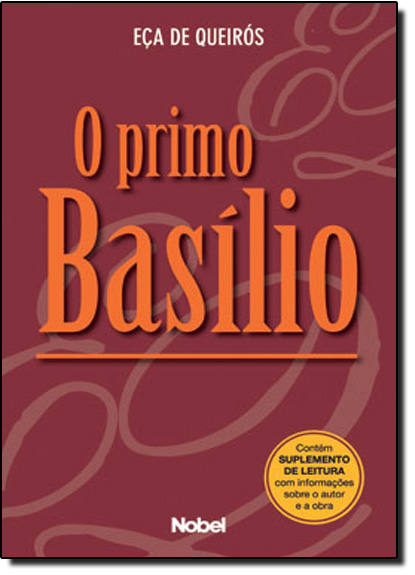 PRIMO BASILIO, livro de Bartolomeu Campos Queirós