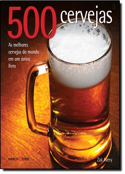500 Cervejas, livro de Zak Avery