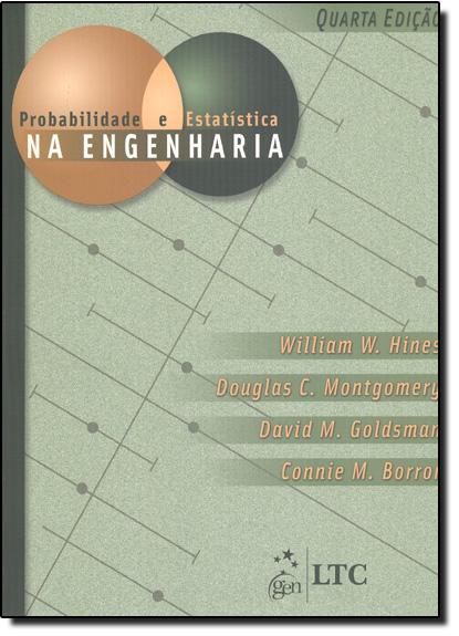 Probabilidade e Estatística na Engenharia, livro de William W. Hines