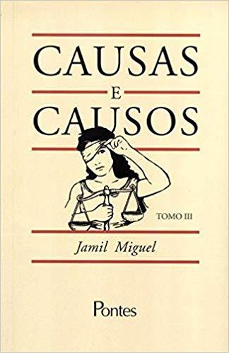 Causas e causos - Tomo III, livro de Jamil Miguel
