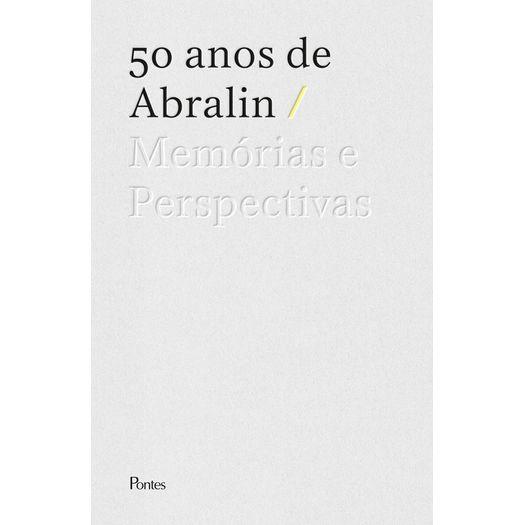 50 anos de Abralin: memórias e perspectivas, livro de Miguel Oliveira Jr. (org.)