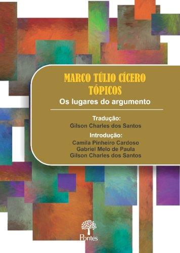 Tópicos - Os lugares do argumento, livro de Marco Túlio Cícero