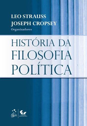 História da Filosofia Política, livro de LEO STRAUSS E JOSEPH CROPSEY