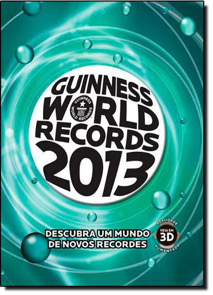 Guinness World Records 2013, livro de Guinness Publishing