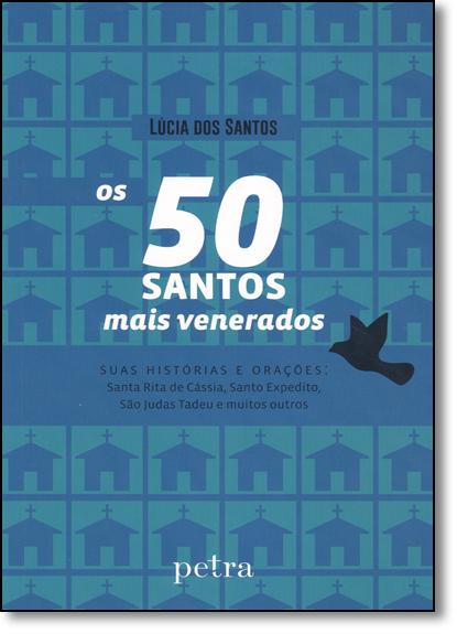 50 Santos Mais Venerados, Os, livro de Lúcia dos Santos