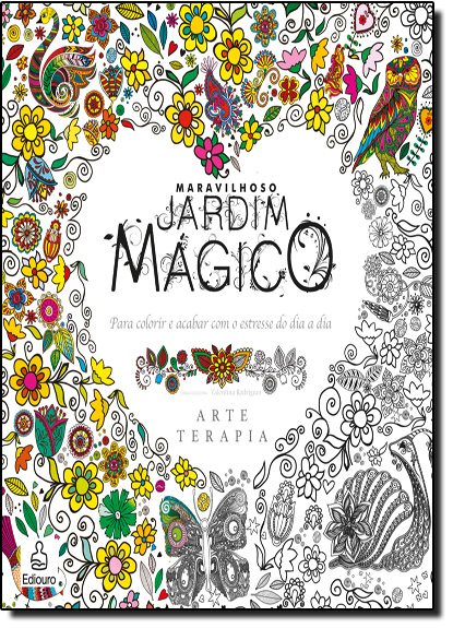 Maravilhoso Jardim Mágico, livro de Valentina Rodrigues
