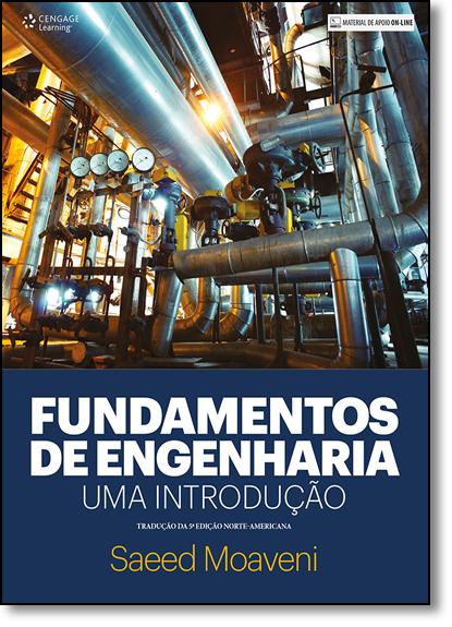 Fundamentos de Engenharia: Uma Introdução - Tradução da 5ª Edição Norte-americana, livro de Saeed Moaveni