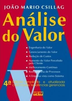 Análise do valor - 4ª edição, livro de João Mario Csillag