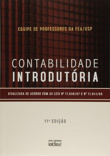 Contabilidade Introdutória: Texto, livro de Equipe de Professores FEA/USP
