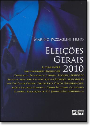 Eleições Gerais 20, livro de Marino Pazzaglini Filho