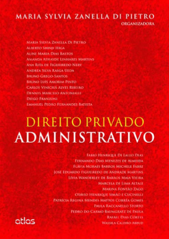 Direito privado administrativo, livro de Maria Sylvia Zanella di Pietro