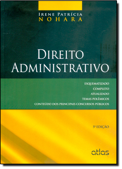 Direito Administrativo, livro de Irene Patrícia Nohara
