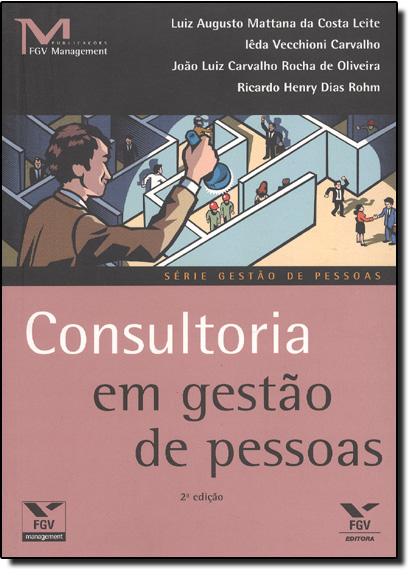 Consultoria em Gestão de Pessoas, livro de Luiz Augusto Mattana da Costa Leite