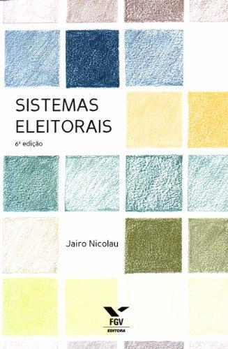 Sistemas Eleitorais, livro de Jairo Nicolau