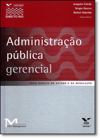 Administração Pública Gerencial, livro de Joaquim Falcão