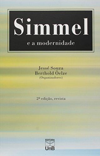 Simmel e a Modernidade, livro de Jessé Souza