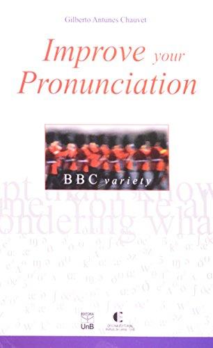 IMPROVE YOUR PRONUNCIATION, livro de CHAUVET