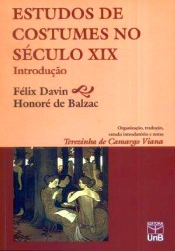 Estudos De Costumes No Século 19, livro de Félix Davin