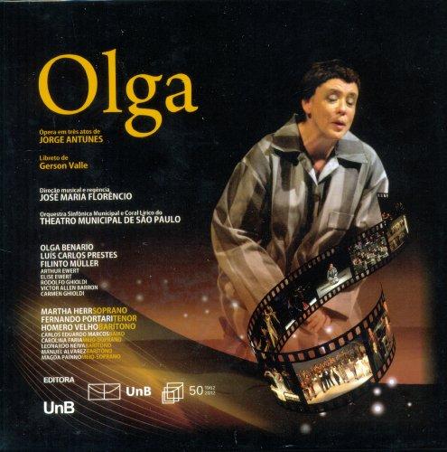 Olga - Três Cds e Libreto, livro de Jorge Antunes