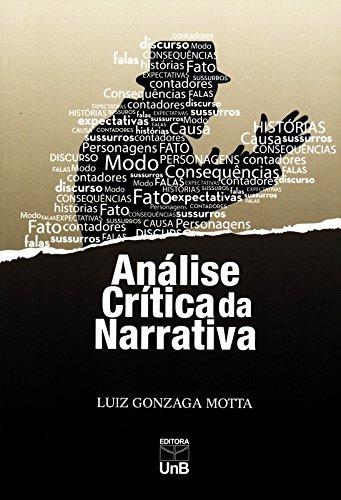 Análise Crítica da Narrativa, livro de Luiz Gonzaga Motta