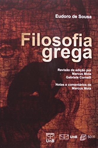 Filosofia Grega, livro de Eudoro de Sousa