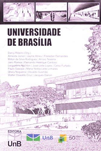 Universidade de Brasília: Projeto de Organização, Pronunciamento de Educadores e Cientistas, livro de Darcy Ribeiro.