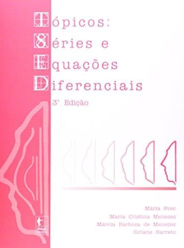 TSED. Tópicos, Séries e Equações Diferenciais, livro de Maria Svec