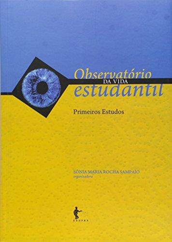 Observatorio Da Vida Estudantil, livro de