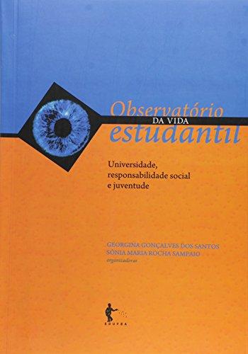 Observatorio Da Vida Estudantil: Universidade, Responsabilidade Social E Juventude - Vol.3, livro de Georgina Goncalves Dos Santos