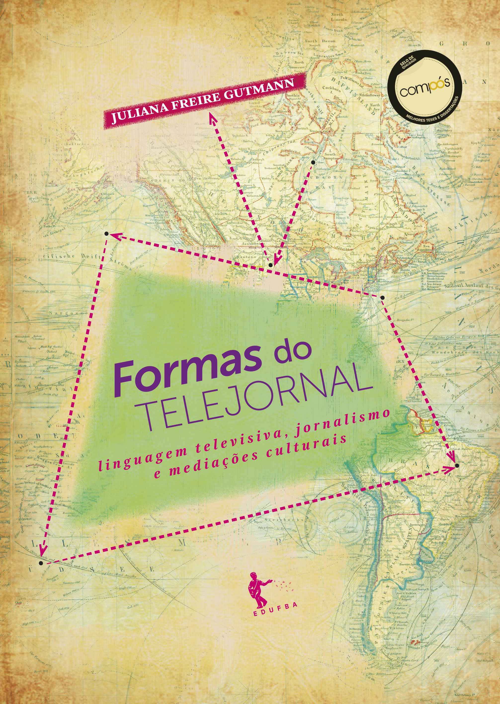 Formas do telejornal, livro de Juliana Freire Gutmann