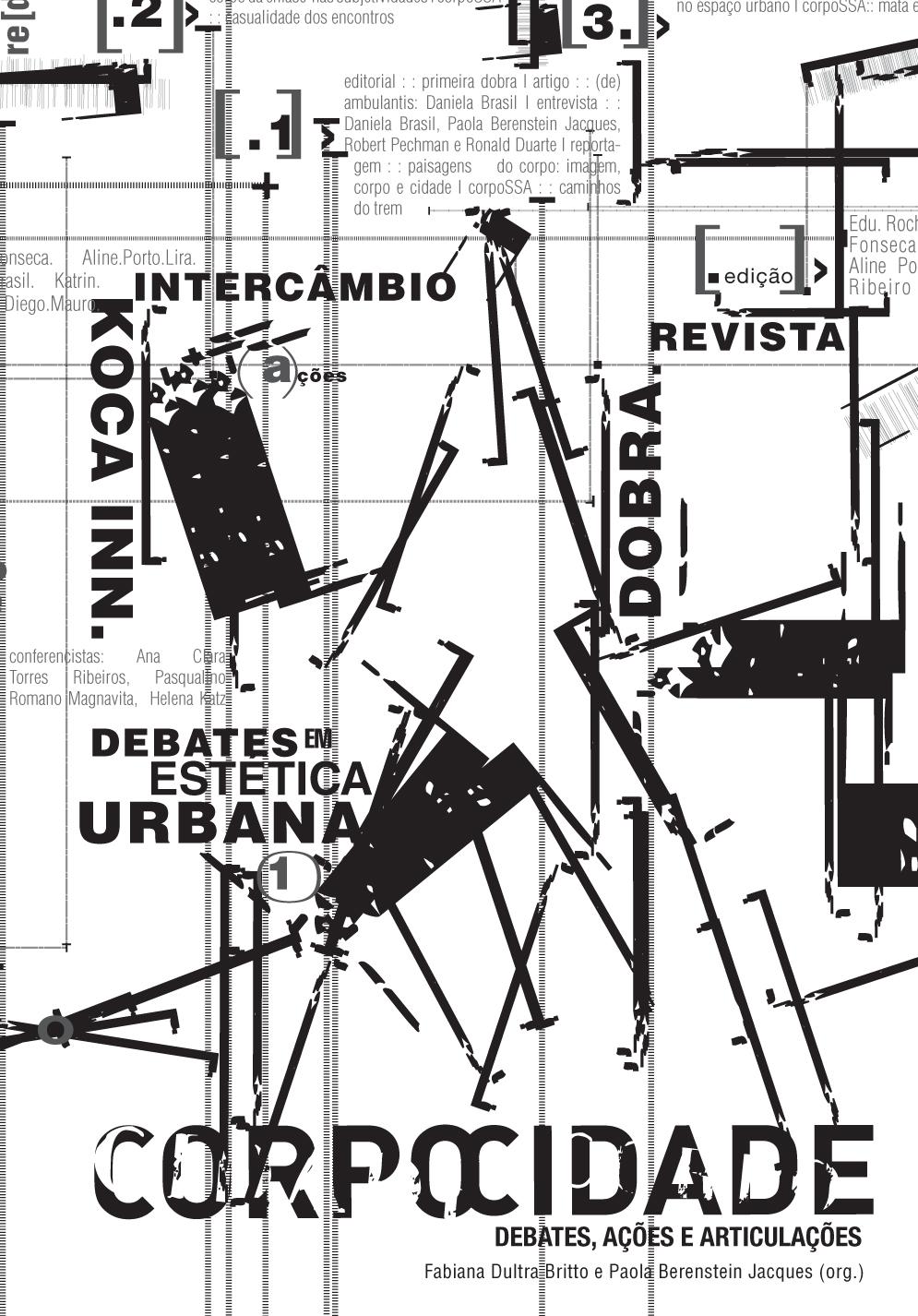 Corpocidade. Gestos Urbanos, livro de Fabiana Dultra Britto, Paola Berenstein Jacques