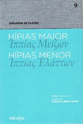 Hípias Maior - Hípias Menor, livro de Platão