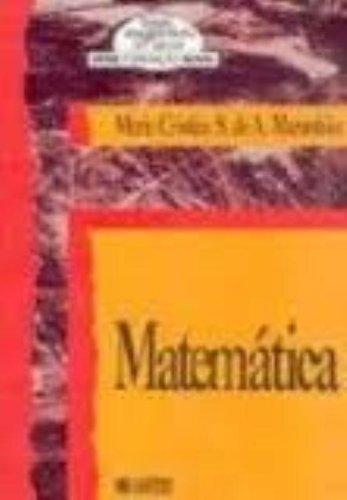 Matemática, livro de Maria Cristina S. de A. Maranhão
