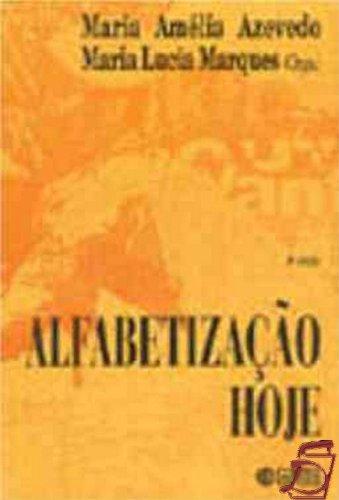 Alfabetização Hoje, livro de Maria Amélia Azevedo