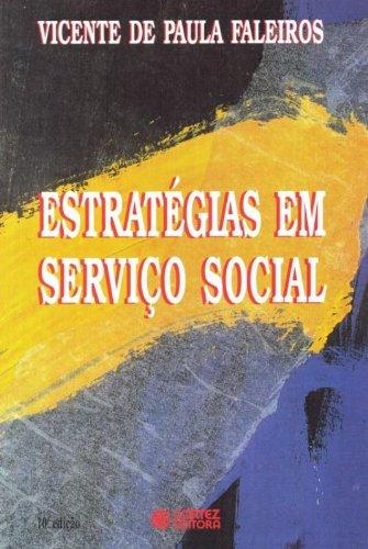 Estratégias em serviço social, livro de Vicente de Paula Faleiros