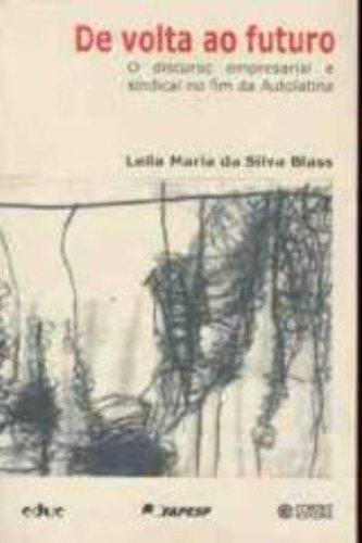 De Volta Ao Futuro, livro de Leila Blass