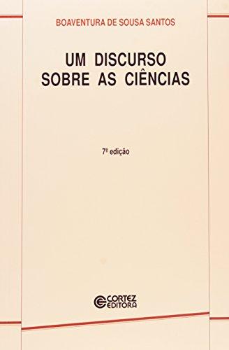 Discurso sobre as ciências, Um, livro de Boaventura de Sousa Santos