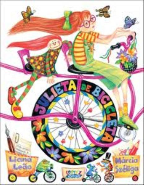 Julieta de bicicleta, livro de Liana Leão