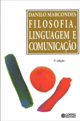 Filosofia, linguagem e comunicação, livro de Danilo Marcondes